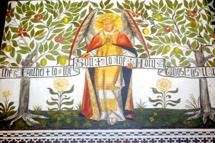 Murals of St Mark's Church, Staplefield (3 of 4)