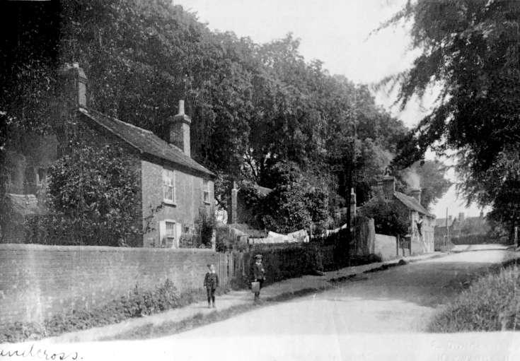 Horsham Road, Handcross. Entrance to Truggers