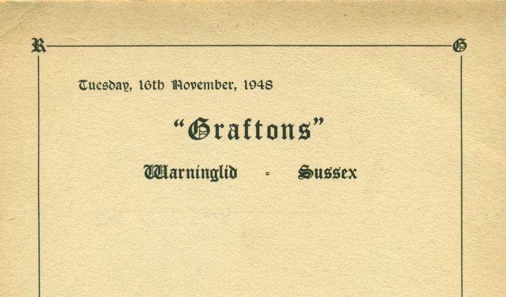 Graftons, Warninglid