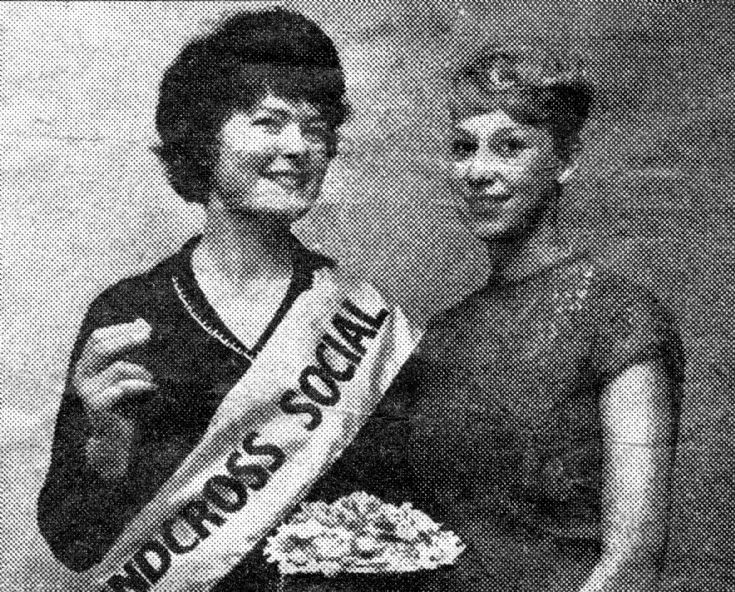 Miss Handcross Social Club beauty queen contest