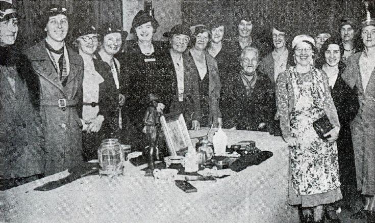 Handcross Women's Institute annual sale