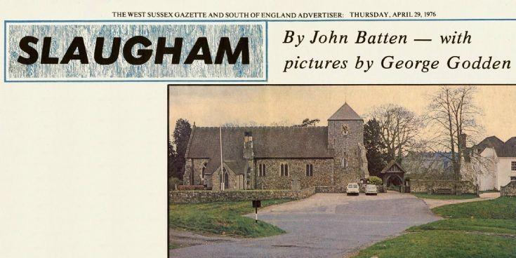 Slaugham featured in West Sussex Gazette