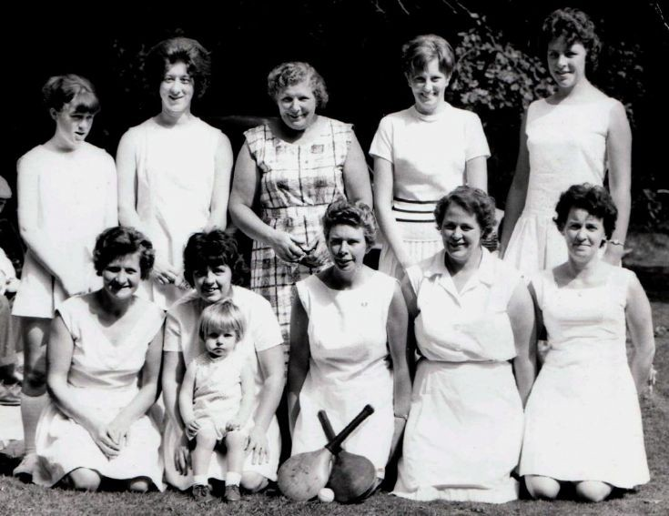 Handcross stoolball team