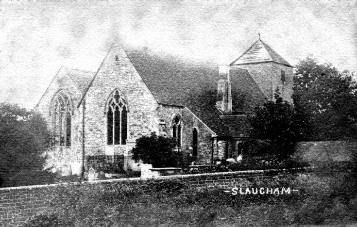 Slaugham church and Matcham tomb