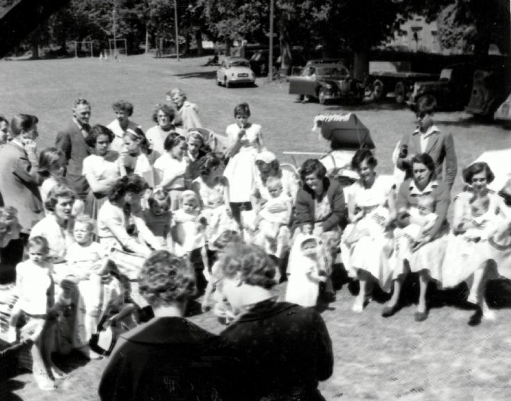 Baby clinic in Handcross Recreation Ground