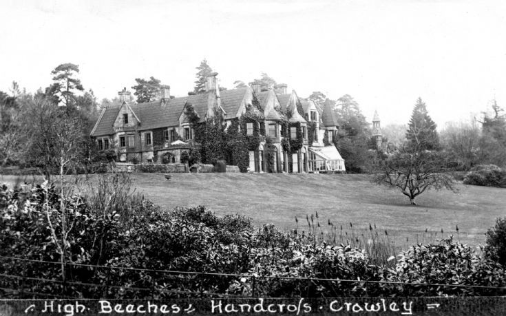 High Beeches house