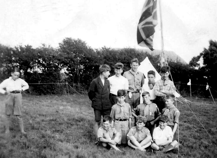 Handcross Scouts summer camp at Pagham