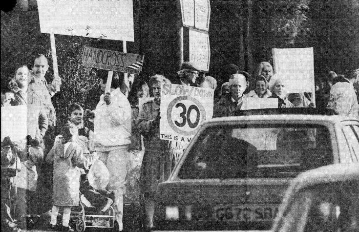 Horsham Road residents fight traffic (1 of 3)