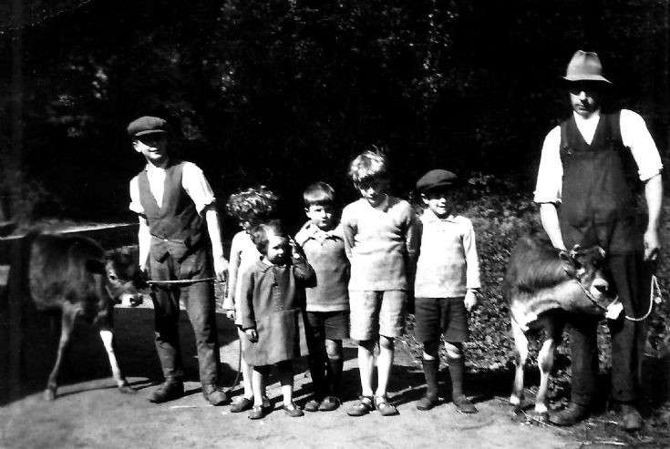 Hancock family farming at Ashfold