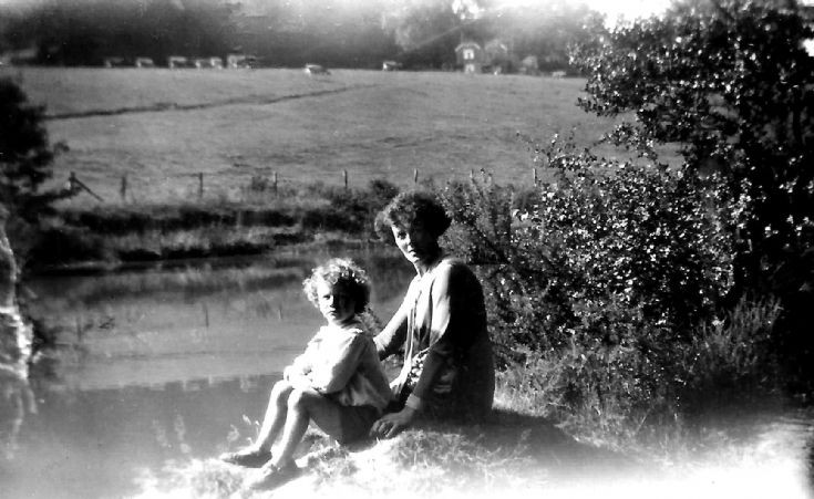 Beside the Cow Pond at Ashfold Farm