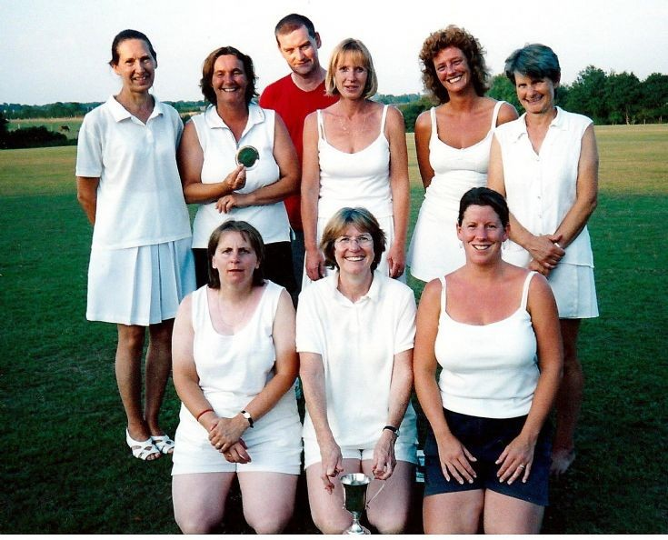 Handcross stoolball team win tournament (6 of 6)