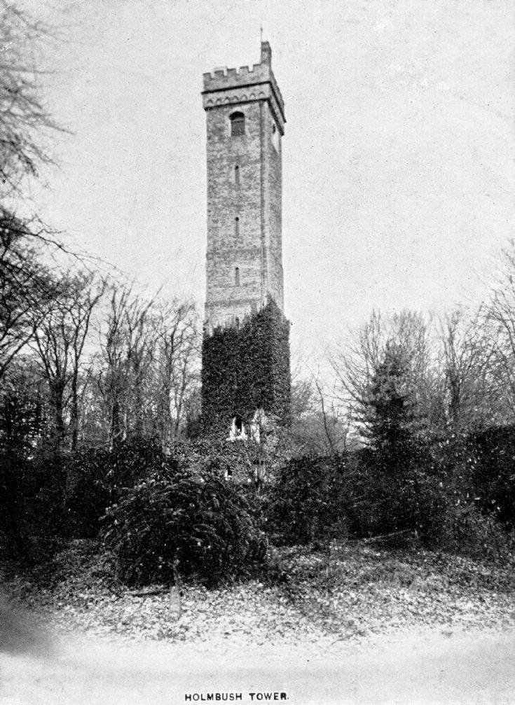 Holmbush Tower near Colgate
