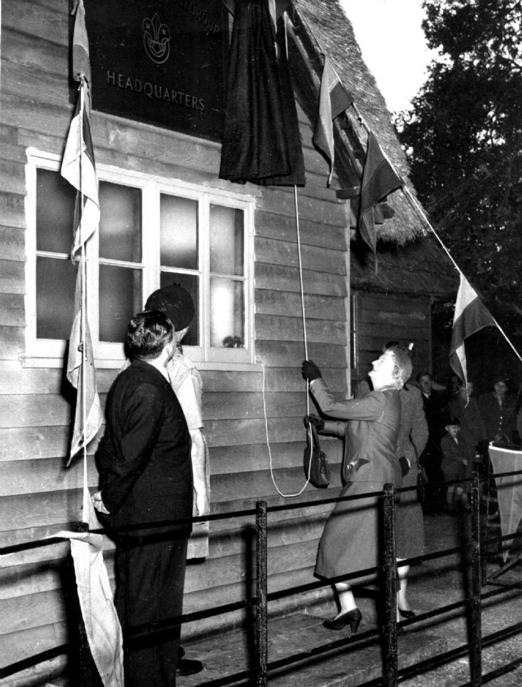 Opening of scout headquarters (2 of 2)