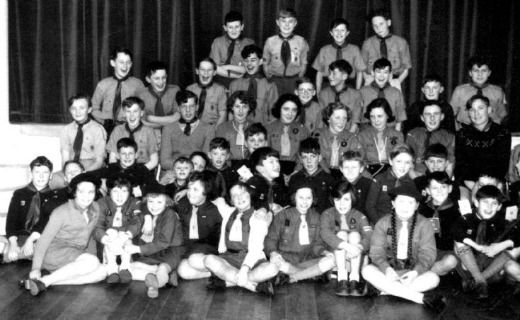 Scouts, Guides, Cubs and Brownies in Parish Hall