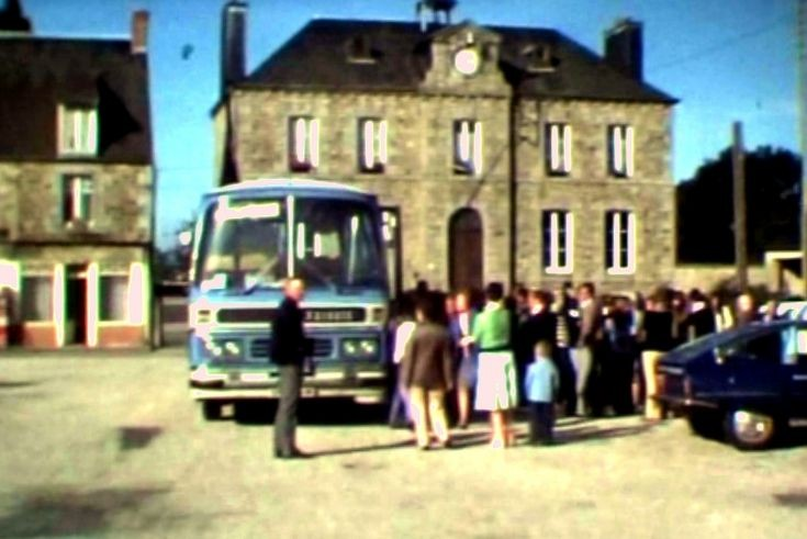 Slaugham Twinning Association visit Normandy 1977