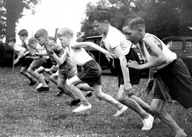 Handcross CP school sports day 1958 (2 of 2)