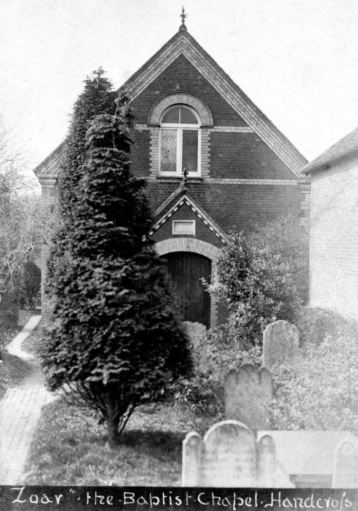 Zoar Strict Baptish Chapel, Handcross