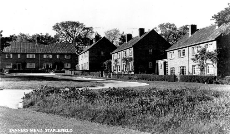 Tanners Mead housing estate in Staplefield