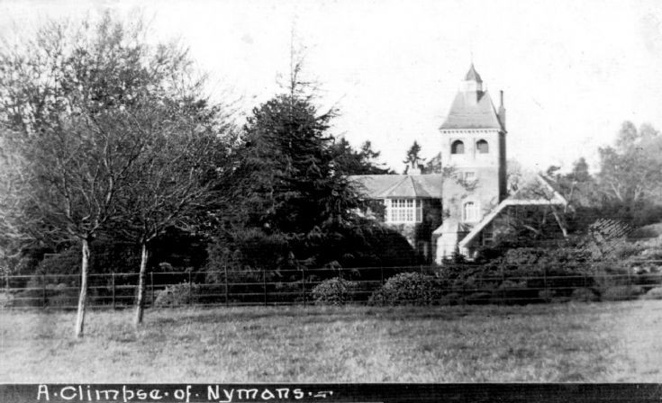 Nymans: A climpse(sic) RHS visitors Dutch visitors