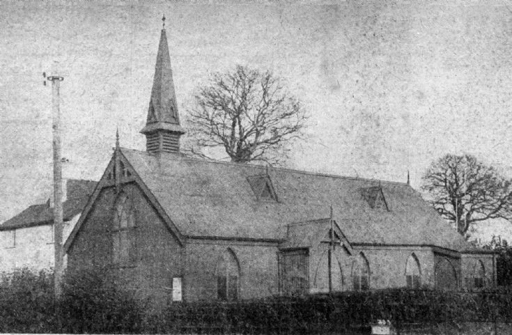 The old Tin Church in Pease Pottage