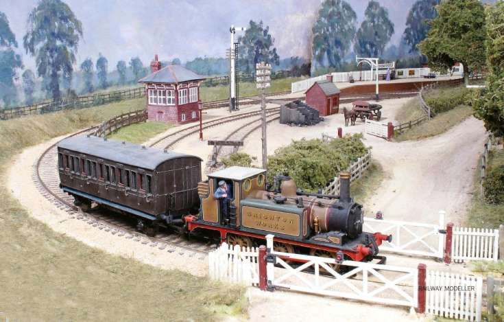 Railway Modeller features Handcross station