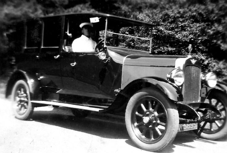 James W. Brown, chauffeur at Ashfold, Handcross