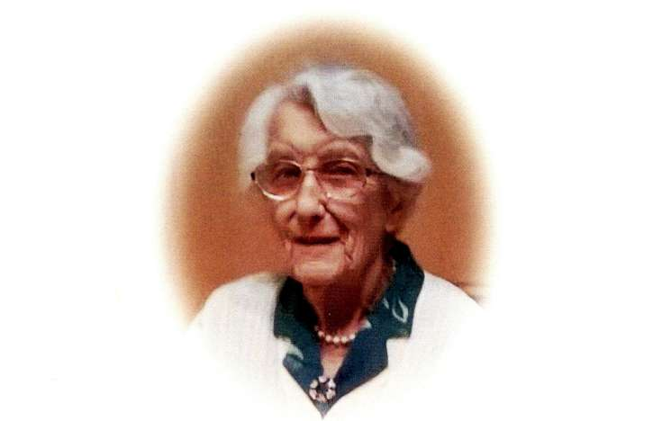 The funeral of 105-years-old Mrs Elsie Cosens