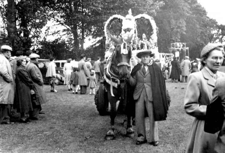 Coronation day 2nd June 1953 in Handcross