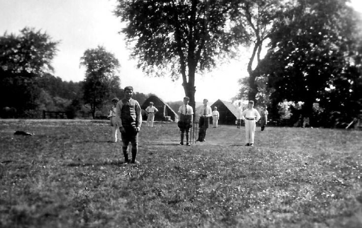 Boys' cricket match at Ashfold, Sussex (1 of 2)