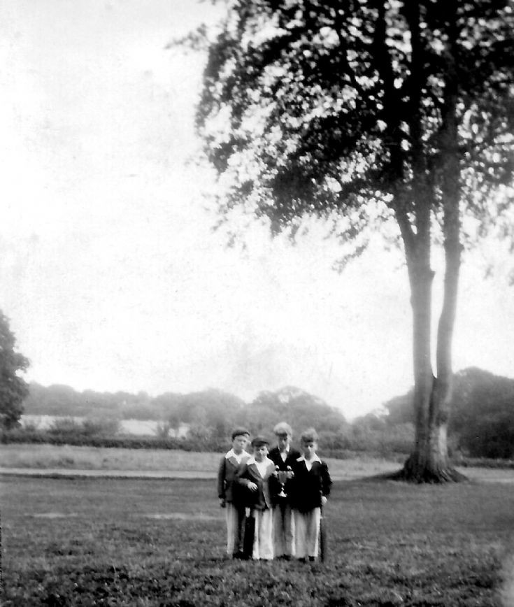 Boys' cricket match at Ashfold, Sussex (2 of 2)