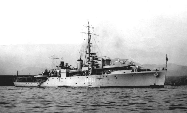 HMS Woodcock adopted by Slaugham Parish (2 of 2)