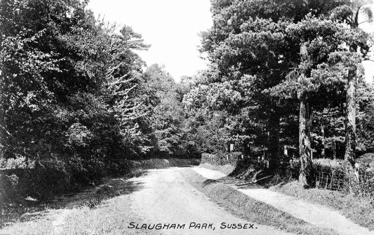 Slaugham Park drive