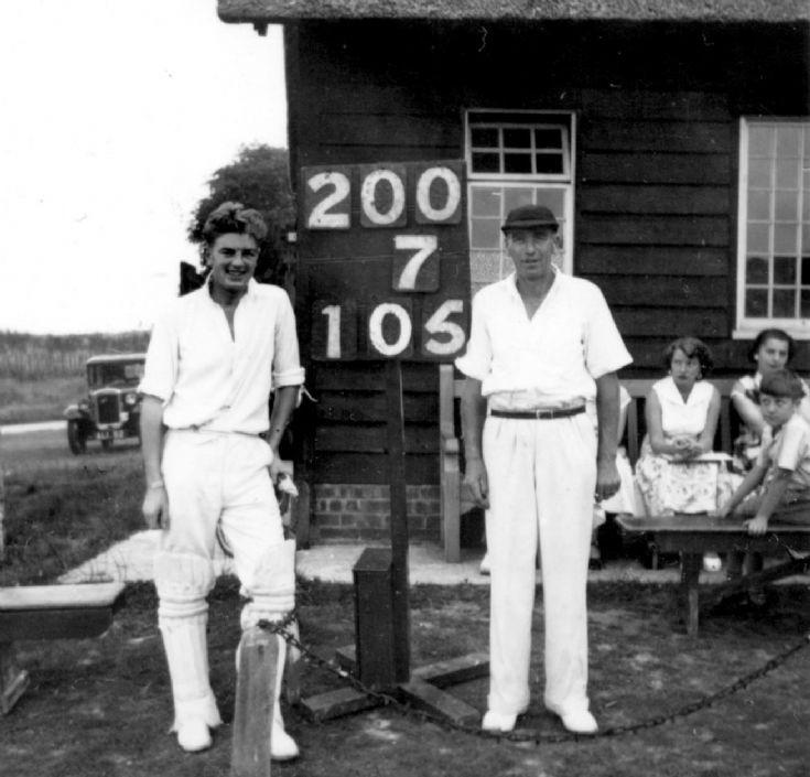Staplefield criicket century-makers (2 of 2)