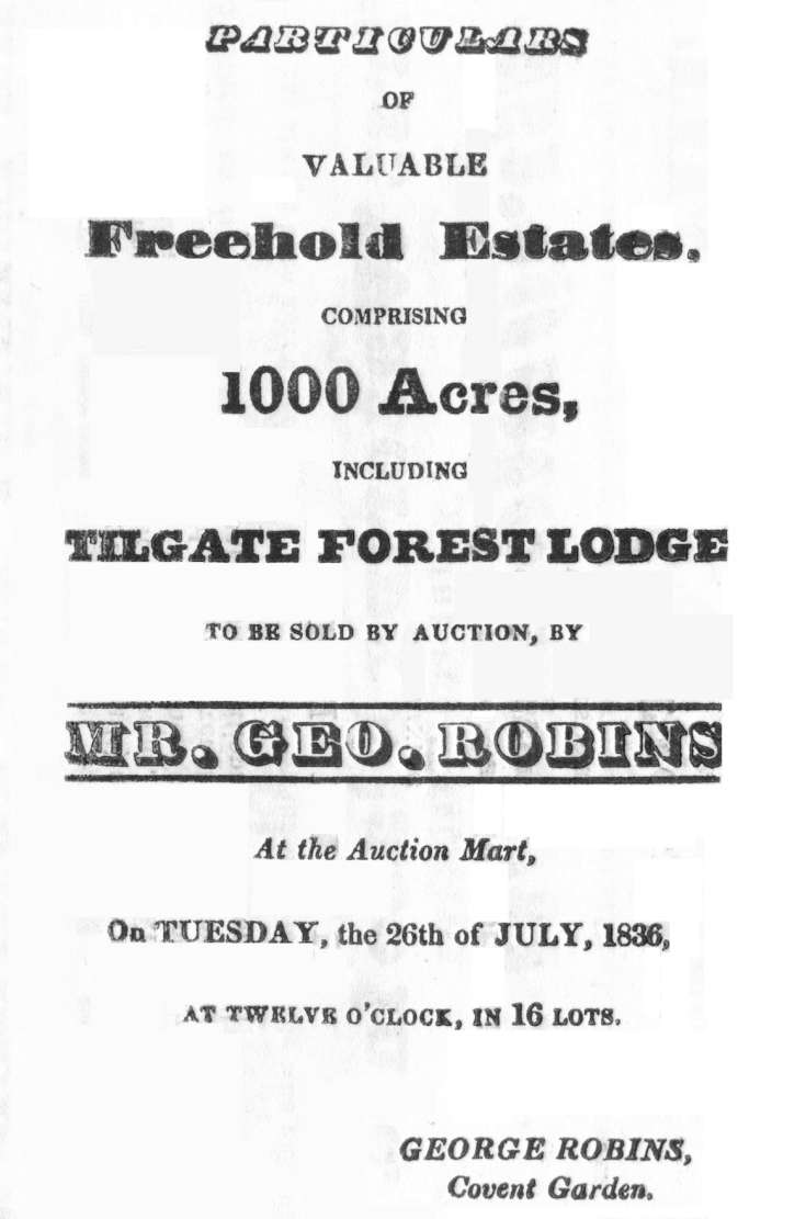 Auction 1836 (1 of 8) - Cover and conditions