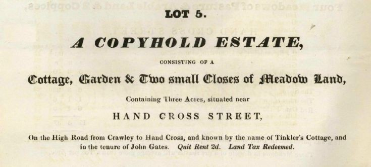 Auction 1836 (3 of 8) - Handcross houses