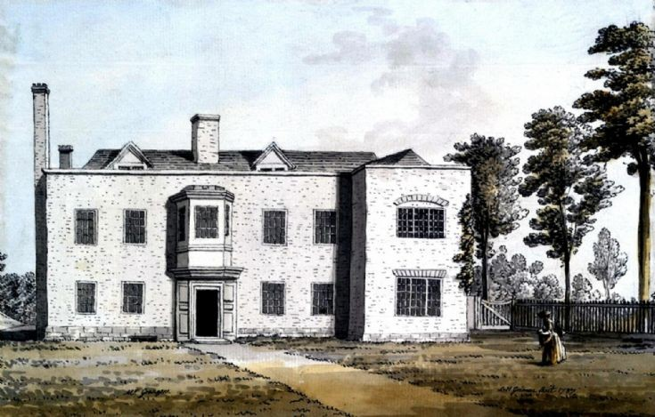 Original Ashfold House, Handcross