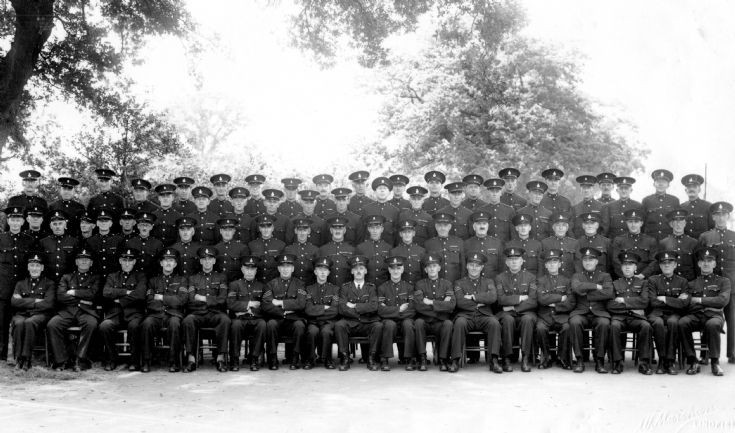 Mid-Sussex Special Constabulary on parade (1 of 5)