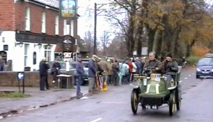 Veteran Car Run in Handcross 2002