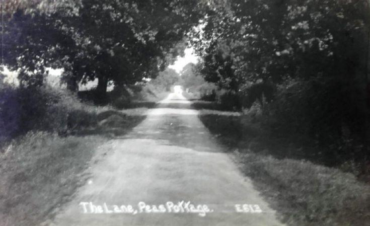 Parish Lane, Pease Pottage and flint arrow heads