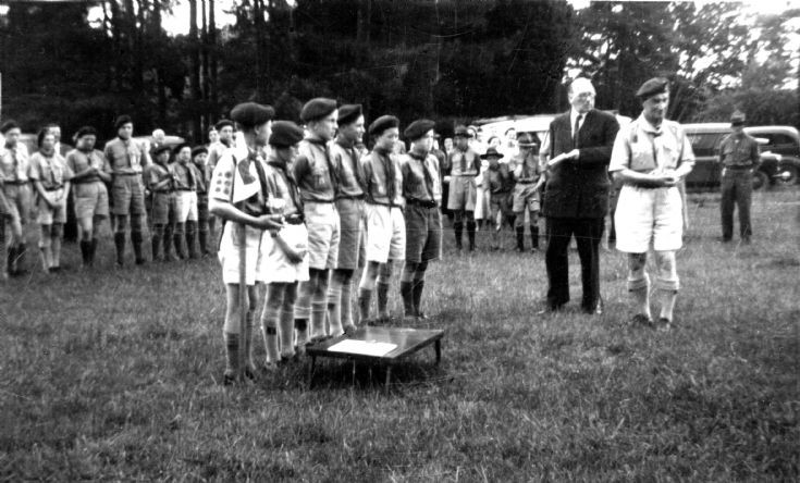 1st Slaugham Scouts win Hardy Cup