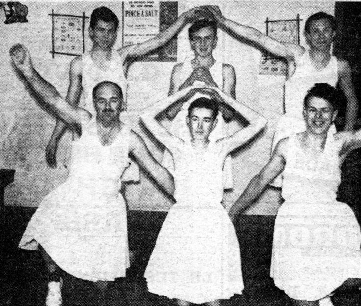 Handcross Scouts' Corps de Ballet (1 of 2)