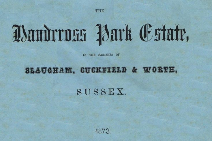 Auction of Handcross Park Estate 1873 (2 of 2)