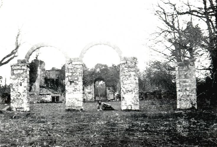 Slaugham Place ruins