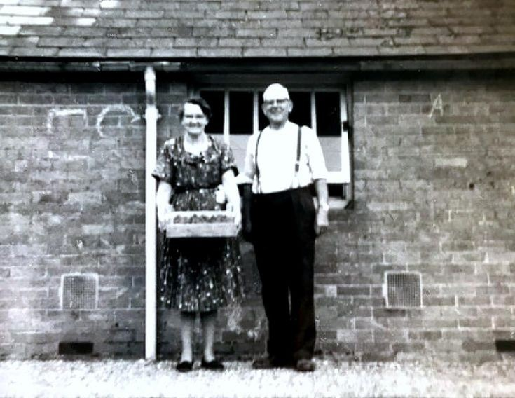 George and Alice Cook at Tilgate gardens