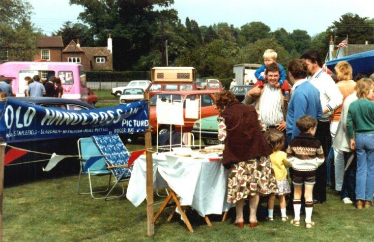 Fete on Staplefield Common 1979