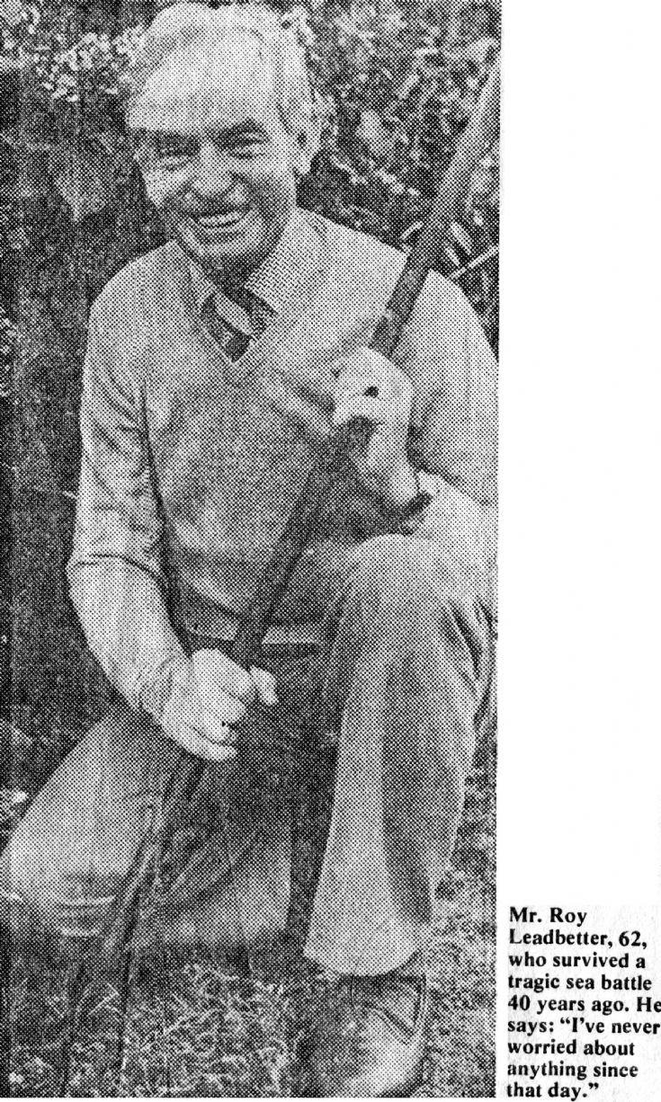 Roy Leadbetter and HMS Rawalpindi