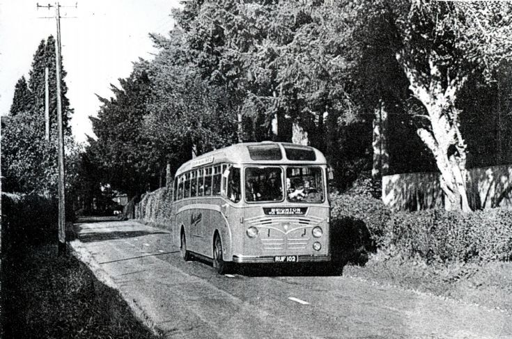 Southdown bus service in Handcross (1 of 2)