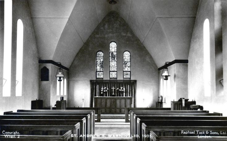 Warninglid church