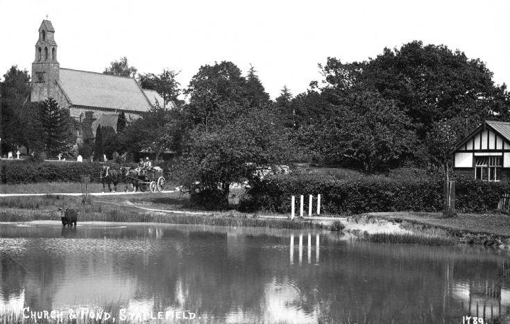 Staplefield pond