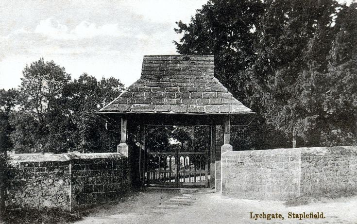 Lych Gate, Staplefield church